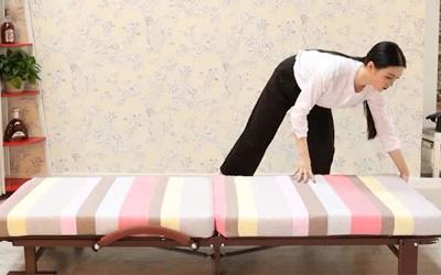 折叠床使用视频